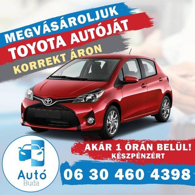 Használt Toyota felvásárlás